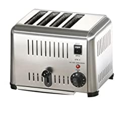 Oceans Heavy Duty Commercial Popup Toaster-New (4-Slice)