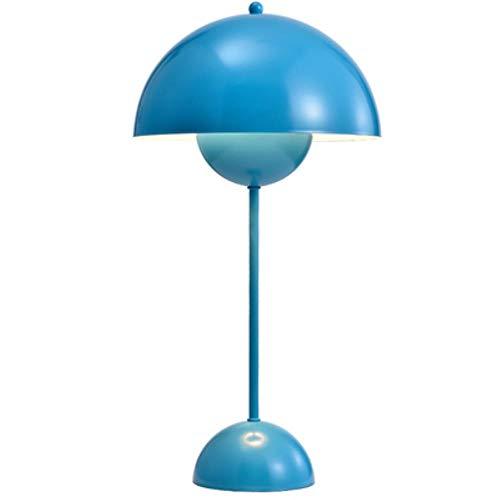 Moderne Tischlampe kreative Bügeleisen Schreibtisch Licht Wohnzimmer Schlafzimmer Nachttischlampe Study Tischleuchte Innenbeleuchtung Dekor Armaturen,Blau