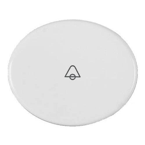 Niessen tacto - Tecla pulsador con simbolo timbre tacto blanco