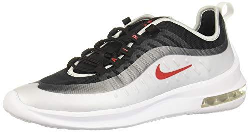 Nike Herren AIR MAX AXIS Leichtathletikschuhe, Mehrfarbig (Black/Sport Red/MTLC Platinum/White 000), 45 EU