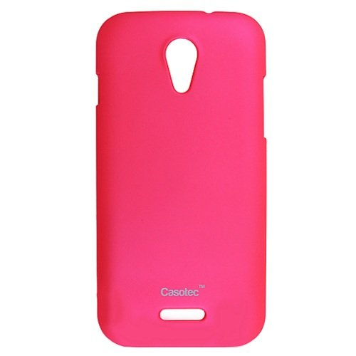 Casotec Ultra Slim Hard Shell Back Case Cover for Micromax Canvas 2.2 A114 - Cool Pink  available at amazon for Rs.149