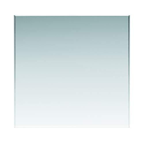 Glasplatten ESG 4mm, klar durchsichtig. Nach Maß bis 40 x 60 cm (400 x 600 mm), Kanten geschliffen und poliert, Ecken gestoßen. Einscheibensicherheitsglas ohne Stempel, biege- und stoßbelastbar.