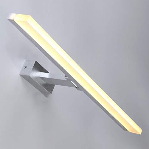 AK Badezimmer-Spiegel-Licht, geführtes Spiegel-Licht-minimalistisches Toiletten-Badezimmer-Eitelkeits-Spiegel-Spiegel-Schminkspiegel-Kabinett-Licht, Haushalts-Badezimmer-Licht,Weißes Licht-80 * 5.5 *