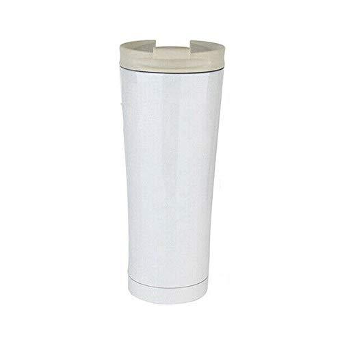 Auto-Wasser-Schale - Isolierte Edelstahl-Reise-Becher Leakproof Auto-Wasser-Flasche mit Deckel Tragbare Reise-Schale Kaffee-Tee-Trinkbecher Becher Auto Home Office-wissen