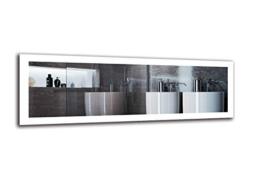 Espejo LED Premium   Dimensiones Espejo 150x50 cm