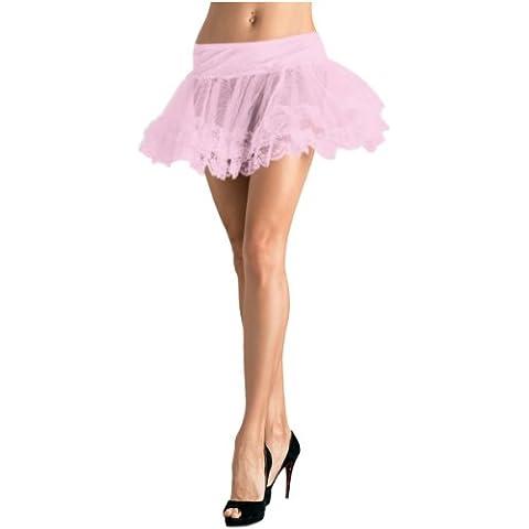 Gonfiore Leg Avenue Petticoat Volante Rose Dimensione