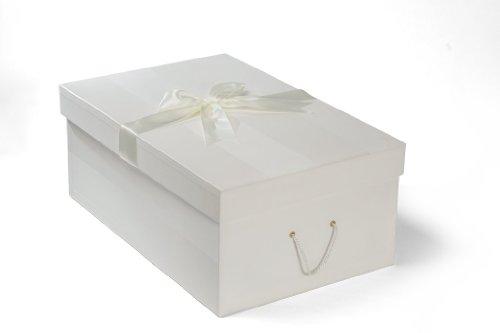 Die extragroße Brautkleidbox, 75cm x 50cm x 30cm, 'CHELSEA IVORY'
