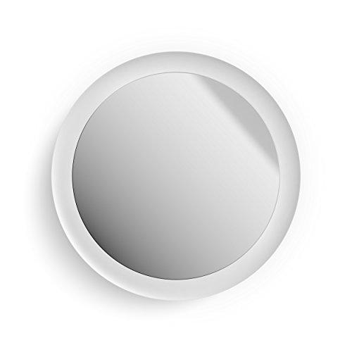 Philips Hue Adore LED Spiegel mit Beleuchtung, dimmbar, alle Weißschattierungen, steuerbar via App, kompatibel mit Amazon Alexa (Echo, Echo Dot), weiß