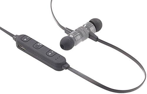 Avrcp Stereo (auvisio Bluethooth Kopfhörer: In-Ear-Stereo-Headset SH-30 mit Bluetooth 4.1 und Magnetverschluss (Bluetooth Kopfhörer und Headsets in Ear))