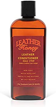 Leather Honey Leather Conditioner, the Best Leather Conditioner Since 1968, 8 Oz Bottle. For Use on Leather Ap
