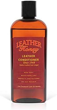 Leather Honey - Acondicionador para cuero, el mejor acondicionador de cuero desde 1968, botella de 0,24 litros