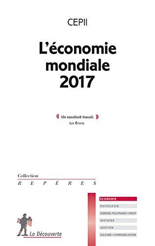L'économie mondiale 2017