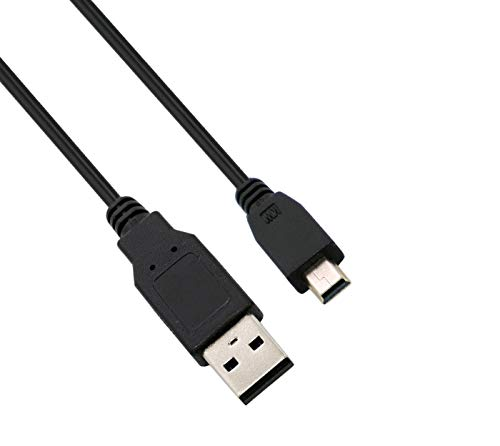 Storite USB 2.0 A to Mini 5 pin B Cable for External HDDS/Camera/Card Readers(45cm -1.47feet -0.45m)