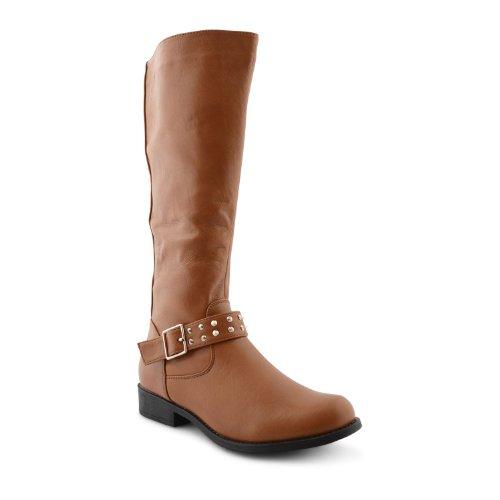 Footwear Sensation , Damen Reitsportschuhe Schwarz schwarz Tan Pu
