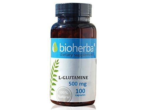 L-Glutamin 500 mg, 100 Kapseln