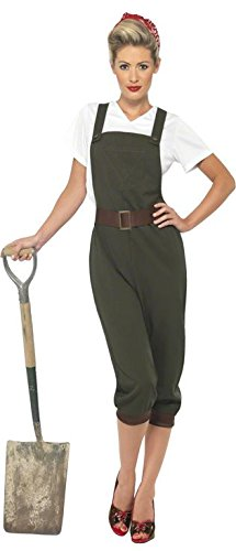 Werder WW2 Land Girl Kostüm ()