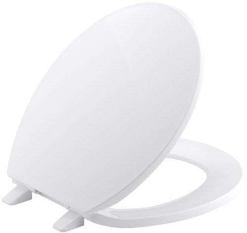 Kohler k-4775–0Brevia rund WC-Sitz mit Q2Advantage, weiß