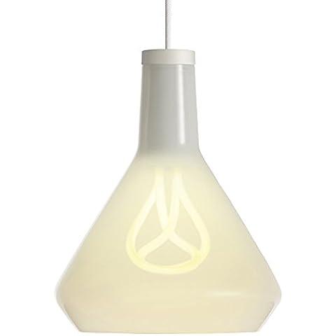 Plumen E27 11 W bombilla fluorescente compacta con 3-Plumen Drop en la parte superior para lámpara/extremos para lámpara,