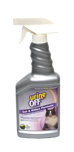 Urine Off Odor and Stain Remover for Cats Sprayer Top 16.9oz by Urine Off
