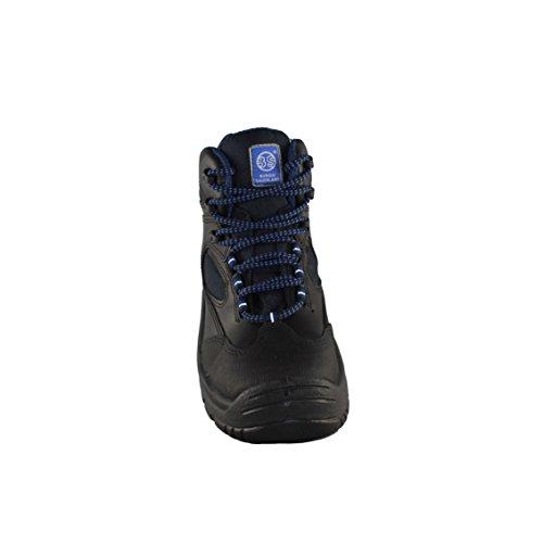 BS Safety Shoes BS-6212 S3 SRC Berufsschuhe Arbeitsschuhe hoch Schwarz Schwarz