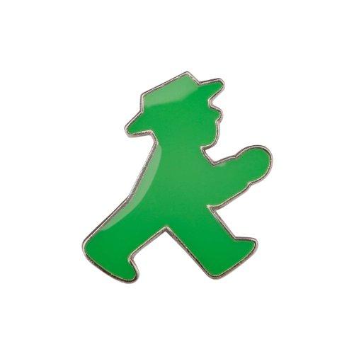 Preisvergleich Produktbild Ampelmann Pin-Anstecker Motiv Geher Ø 1, 8 cm