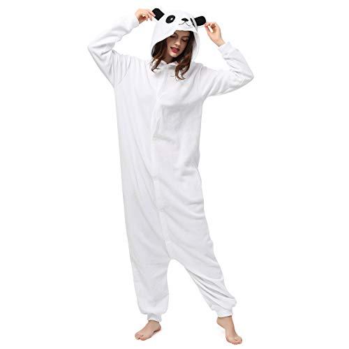 Katara 1744 (30+ Designs) Eisbären-Kostüm Polar, Unisex Onesie/ Pyjama-Qualität für Erwachsene & Teenager