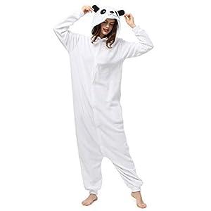 Katara- Pijamas Enteros Diferentes Animales y Tamaños, Adultos Unisex, Color Oso Polar Blanco, Talla 175-185cm (1744)