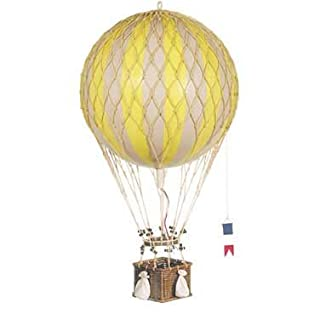 Authentic Models - Dekoballon - Ballon - Farbe: Gelb - 8 cm