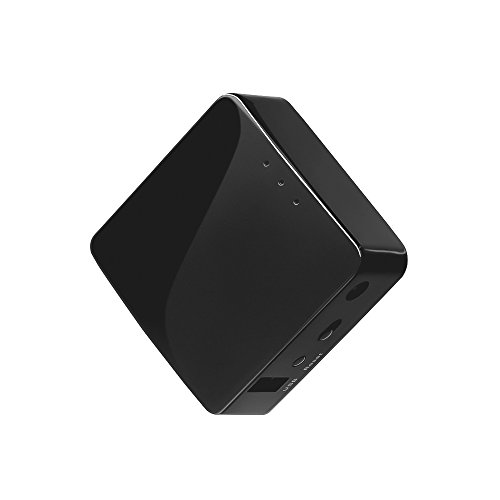 GL.iNet GL-AR300M-Lite Mini Router, Wi-Fi Converter, OpenWrt Pre-installed, Repeater Bridge, 300Mbps High Performance, 16MB Nor flash, 128MB RAM, OpenVPN, Tor Compatible, Programmable IoT Gateway (Vpn Firewall-wireless Router)