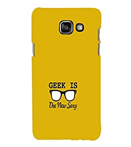 EPICCASE Greek is Sexy Mobile Back Case Cover For Samsung Galaxy A3 (2016) (Designer Case)