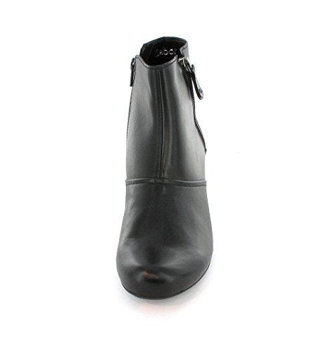 Gabor, 96.674-57, St. Tropez Stiefelette Damen, Schwarz/schwarz (Micro) Schwarz