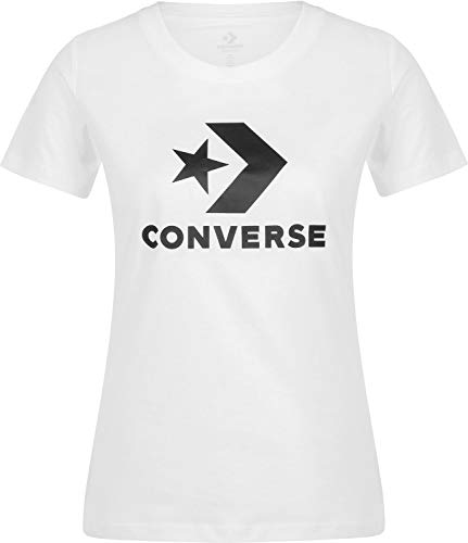 Converse Star Chevron Core W Camiseta Optical White