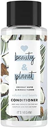 Love, Beauty and Planet Hindistan Cevizi Suyu ve Mimoza Çiçeği Özlü Saç Kremi