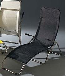 Jan Kurtz Fiam Samba sonnenliege Noir Sauna Relax 471211 Sunbed Lounger Chaise inclinable