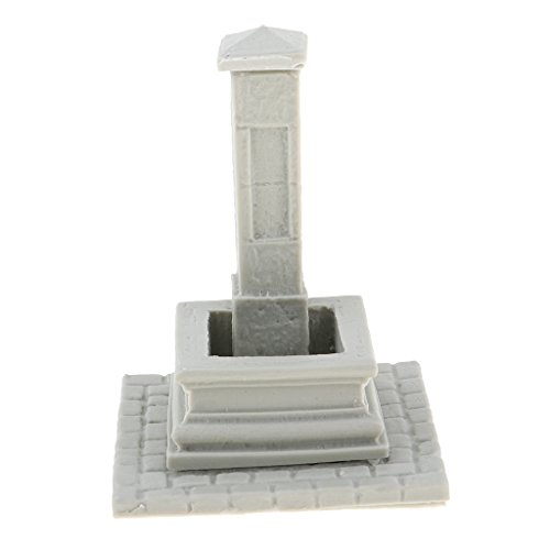 Homyl Escala 1:35 Resina Modelos Accesorio Sin Pintar para Escena de Soldados Miniatura - Set B 5.3x5.3x6.8cm