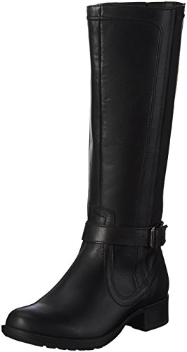 Rockport Damen Copley Waterproof Christy-Ch Intl Langschaft Schlupfstiefel Schwarz (BLACK (001))