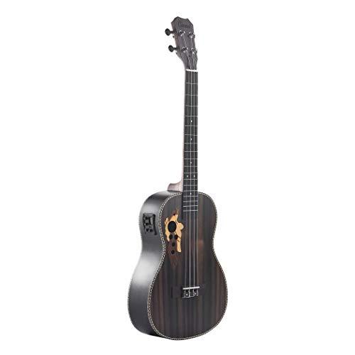 Caramel CB500 akustische/elektrischePalisander-Bariton-Ukulele mit Halsspannstab, 76,2cm