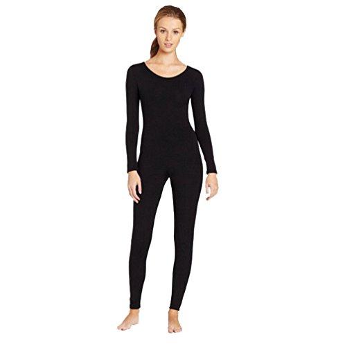 chsene Fancy Kleid Lycra Zentai Unitard Bodysuit Halloween Catsuit Dancewear Schwarz L (Halloween-kostüme Dancewear)