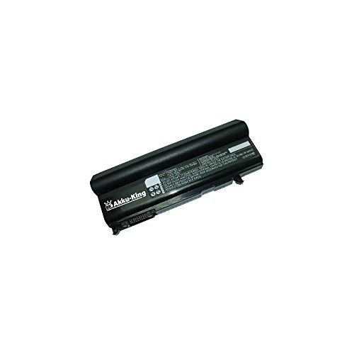 1bal Ersatz (Akku kompatibel mit Toshiba Dynabook Qosmio F25 F25, Satellite U200 T10, Portege M300 - ersetzt PA3356U, PA3356U-1BAS, PA3356U-2BRS - Li-Ion 8400mAh (12 Zellen))