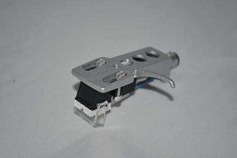 Argent platine vinyle Headshell monture avec cartouche pour Technics SL D1, SL D1K, SL D2, SL D202, SL D205, SL D2K, SL D3, SL D303 Platines