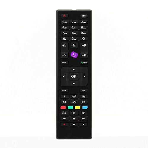 Ersatz Fernbedienung Kompatibel mit Telefunken D39F275N3C LCD LED TVs