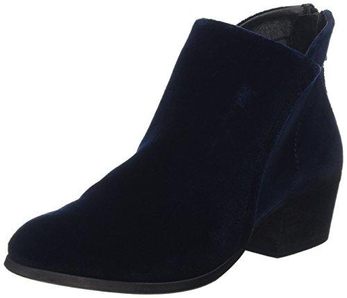 Hudson Apisi, Bottines à doublure femme Bleu - Bleu (Bleu marine)