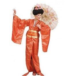 �Kostüm für Erwachsene Geisha, mehrfarbig, M (Geisha Kostüme Für Erwachsene)
