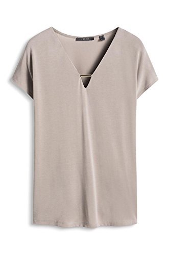 ESPRIT Collection Damen T-Shirt Beige (SAND 285)
