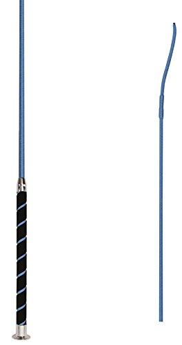 Amesbichler Waldhausen Dressurgerte mit Velourgriff 110 cm  Gerte, azurblau