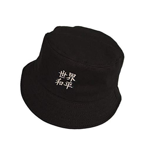 GFF Stickerei Englisch Buchstaben Muster Umfang Unisex Baumwolle Fischerhüte Kappen