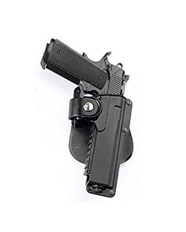 Fobus Tatical concealed carry Paddle Tactical Holster Fits Kimber .45 cal with Rails / Springfield 1911 .45 cal with Rails / All 1911 .45 cal with Rails / Recover Tactical Grip.