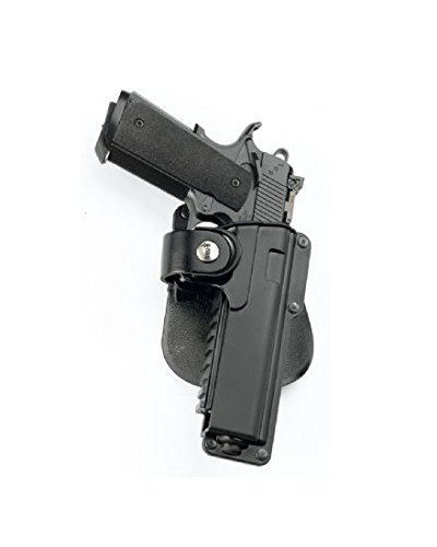 Fobus Tatical concealed carry 5cm Police Wide Belt ROTO Rotating Tactical Holster for Kimber .45 cal with Rails / Springfield 1911 .45 cal with Rails / All 1911 .45 cal with Rails / Recover Tactical Grip. -