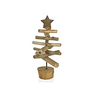 Andrea House–Baum Weihnachten Holz 20x 20x 28cm (gf66247)