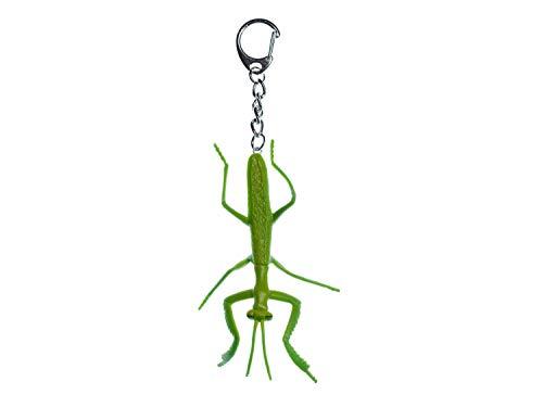 Miniblings Gottesanbeterin Schlüsselanhänger Schlüsselring Anhänger Insekt Spuk